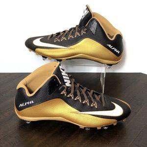 NEW Nike Alpha Pro 2 3/4 TD Football Cleats